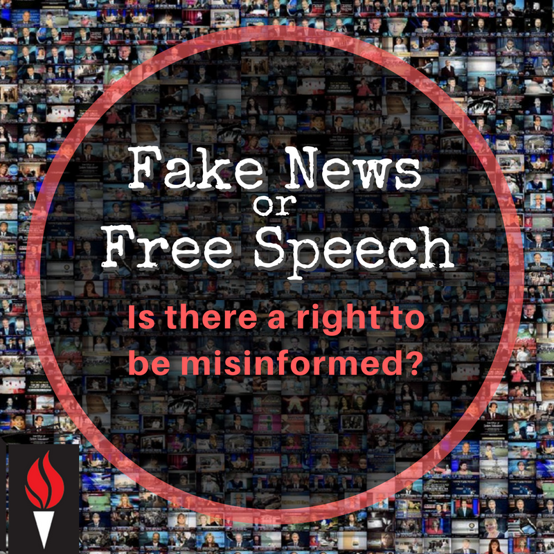 Fake News or Free Speech: Is There a Right to be Misinformed? (Free webinar!)