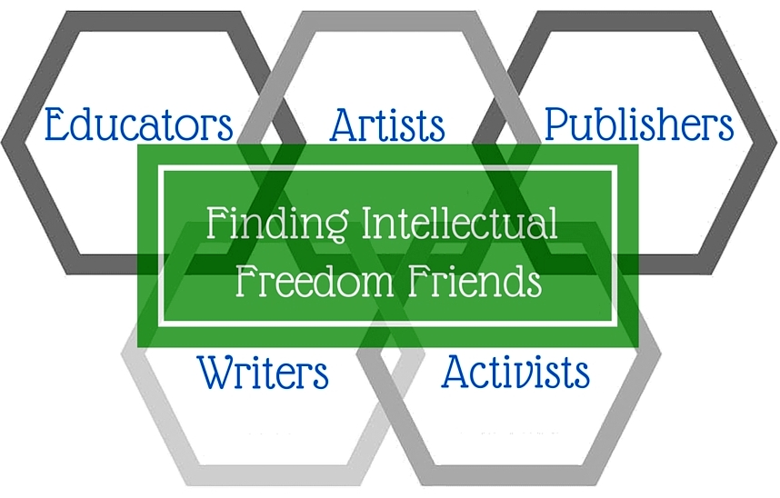 Finding Intellectual Freedom Friends logo
