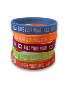 Free Your Mind Banned Book Bracelets