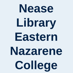Nease Library Eastern Nazarene College