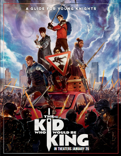 A guide for young knights. The Kid Who Would Be King, in theaters January 25.