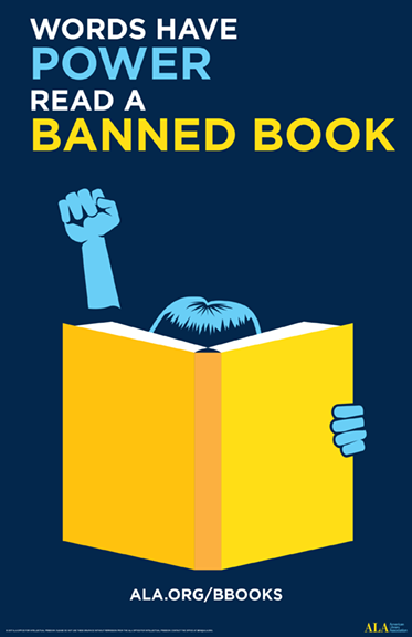 Banned Books Week logo 2017 poster