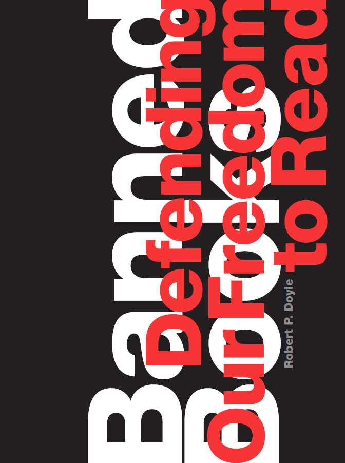 "Book cover with title ""Banned Books: Defending Our Freedom to Read"""