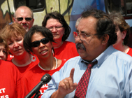 Raul Grijalva talks on capitol Hill