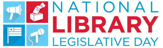 National Library Legislative Day banner, displaying dates for 2018: May 7 and May 8