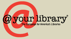 at your library [dot] org logo