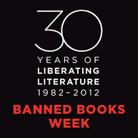 BAnned Books Week Badge