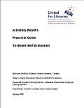 Library board's practical guide to self-evaluation cover