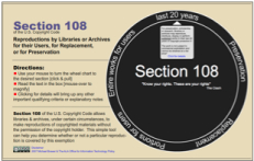 Section 108 Spinner graphic