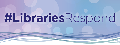 Libraries Respond logo