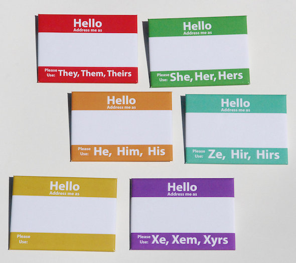 Gender Pronouns - Intersections