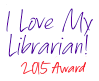 I Love my Librarian 2014 Award