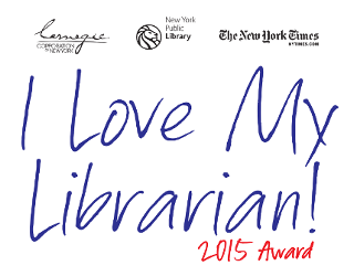 I Love My Librarian Award 2014