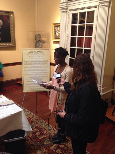 Declaration event at the Library Company of Philadelphia