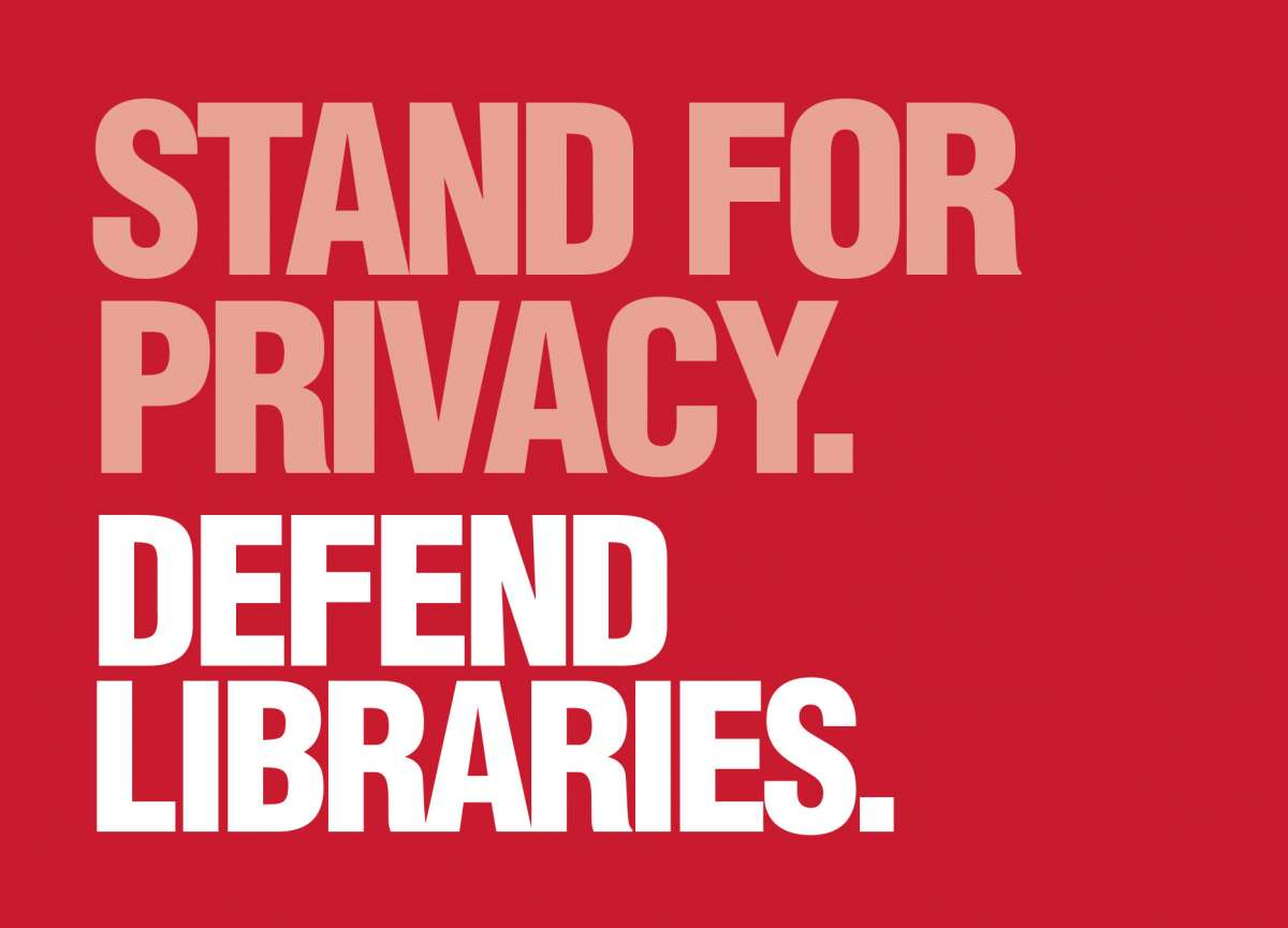 Postcard: Stand for Privacy