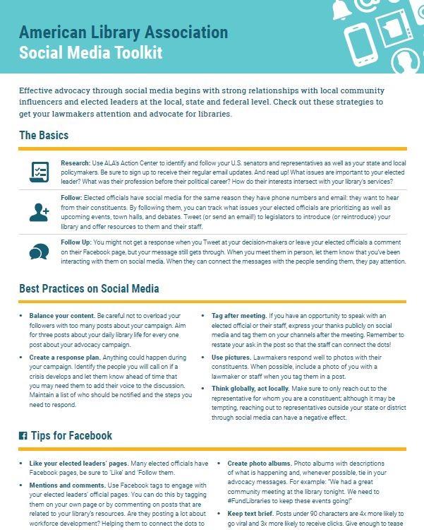 Using Social Media | Advocacy, Legislation & Issues