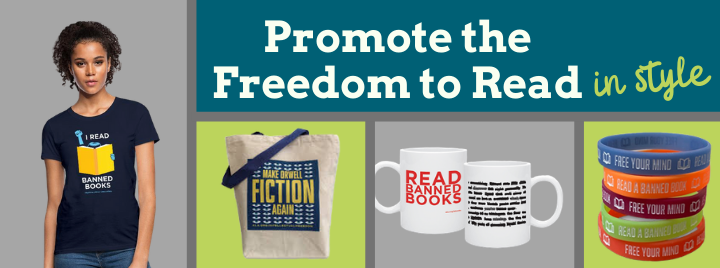 Promote the Freedom to Read in Style