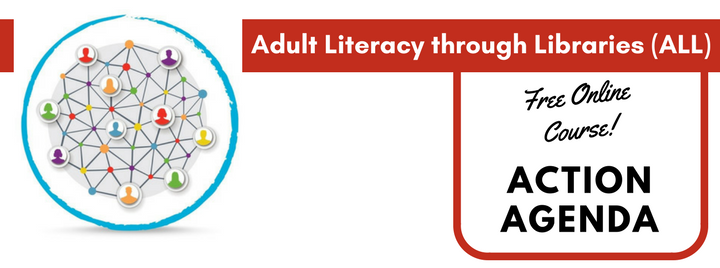 Adult Literacy through Libraries free online course for serving Adult Learners