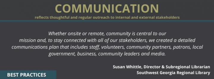 Best Practice - Communication