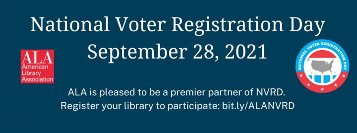 Sign up to participate in National Voter Registration Day: bit.ly/ALANVRD