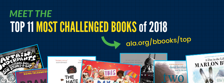 Top Ten Most Challenged Books Lists | Advocacy, Legislation