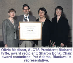 blackwell's scholarship award