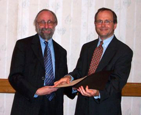 john attig and matthew beacom at ala annual 2004 (image courtesy jsc web site)