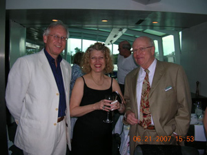 will wakeling, peggy johnson, and knut dorn