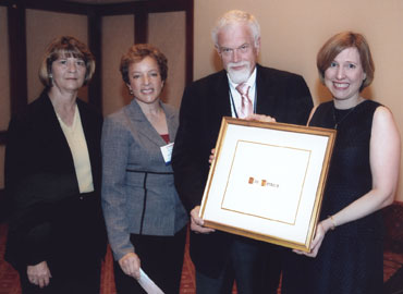 Don Tonkery, recipient of the Bowker/Ulrich's Serials Librarianship Award