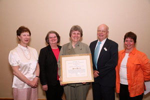 karen darling, leadership in library acquisitions award recipient