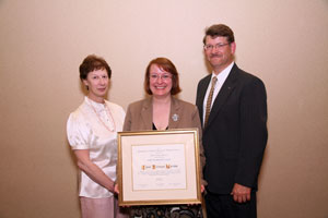 janet morrow, presidential citation recipient