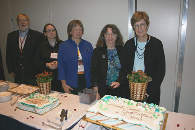 group celebrating acig anniversary
