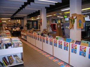 children's room, copenhagen central library