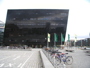 exterior, black diamond library, the new royal library