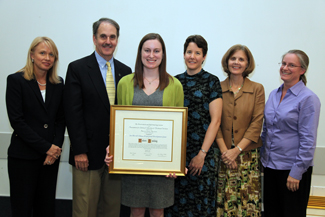 Helen Bailey was awarded the 2012 Merrill-Oldham Professional Development Grant