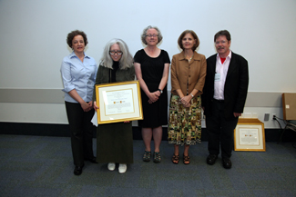 UCLA's Valerie Bross is the 2012 recipient of the Ulrich's Serials Librarianship Award