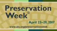 Preservation Week website bug