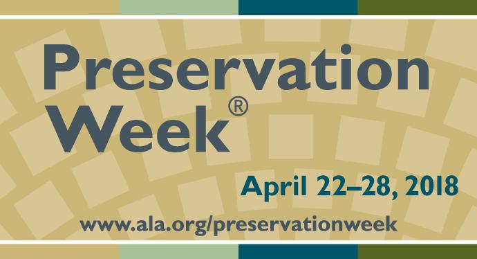 Preservation Week website bug