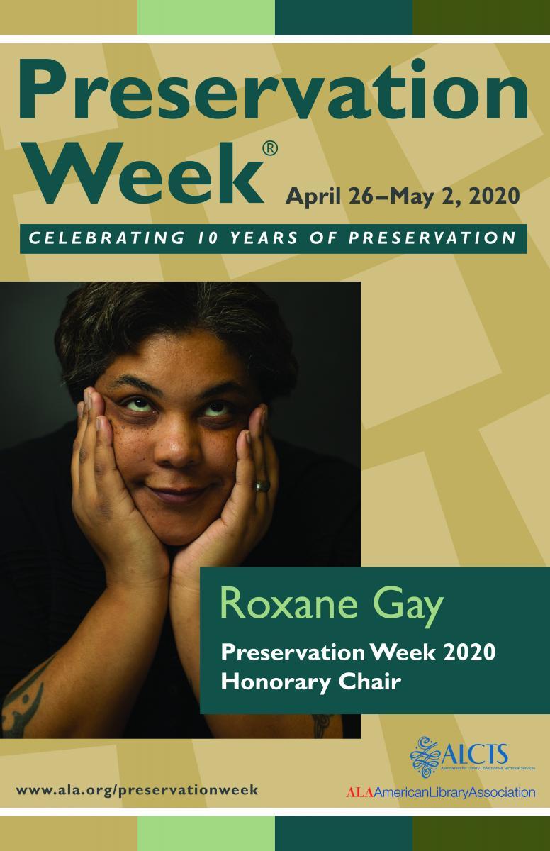 Roxane Gay, 2020 Preservation Week Honorary Chair