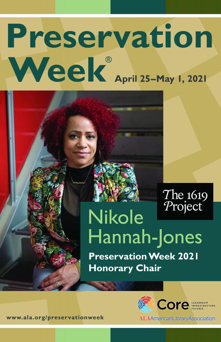 Nikole Hannah-Jones, 2021 Preservation Week Honorary Chair