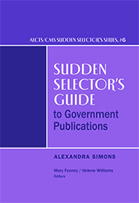 image of cover of Sudden Selector's Guide to Government Publications