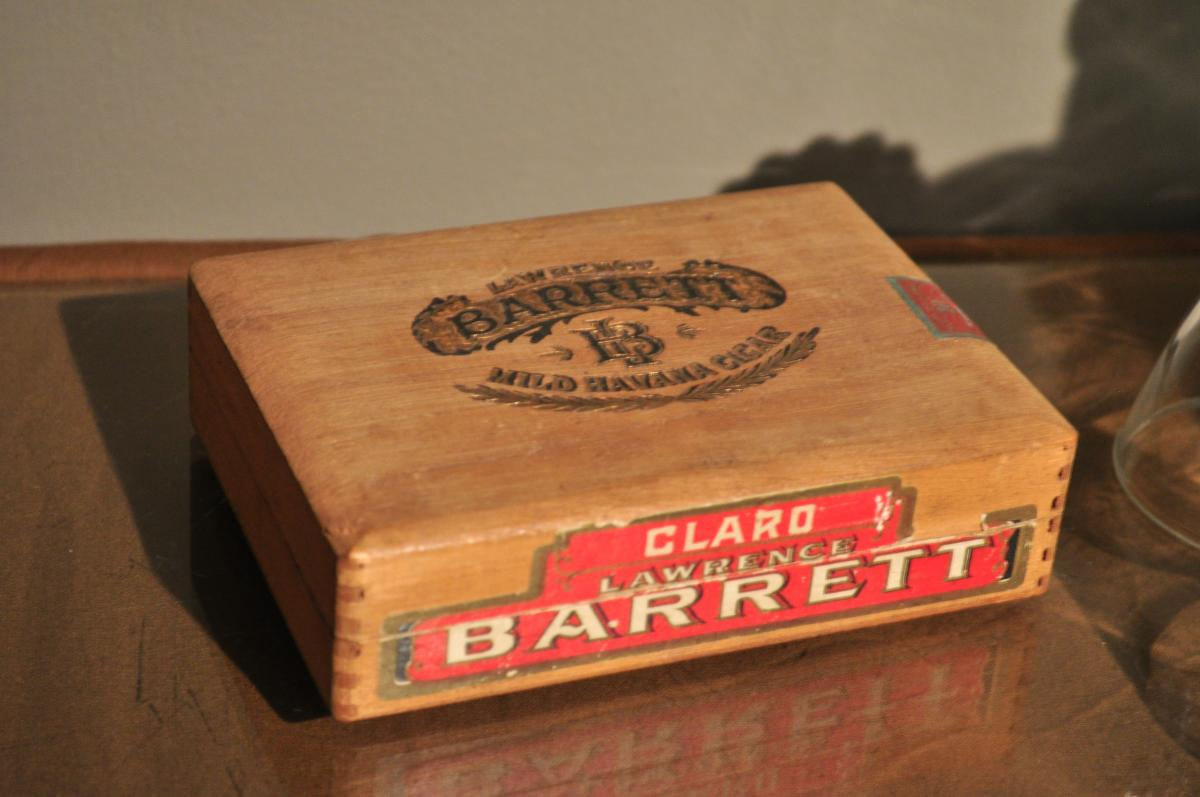 Old cigar box