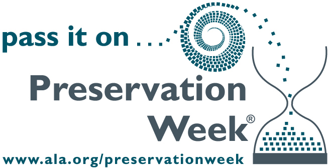Preservation Week logo with no dates
