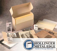 Home document preservation kit from Hollinger Metal Edge