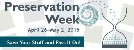 preservation week banner
