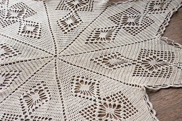 Franklin Habit doily