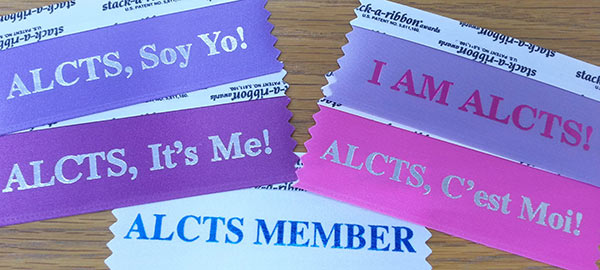 ALCTS, It's Me! ribbons