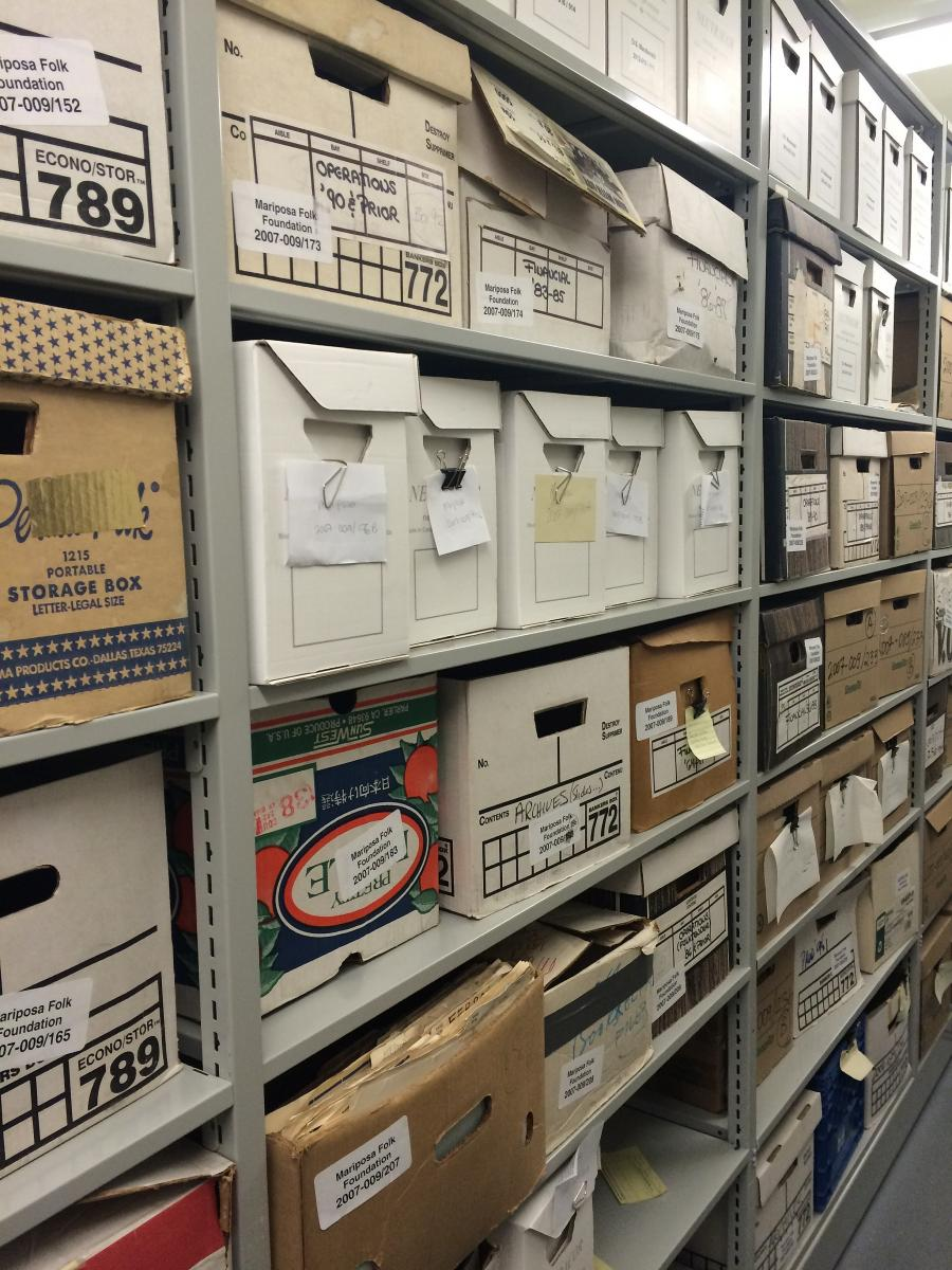 Storing Musty Documents | Association for Library