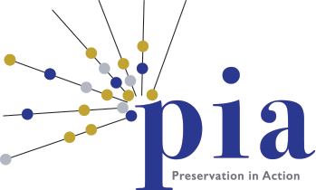 PIA: preservation in action logo
