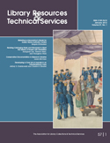 cover of LRTS issue v57, n1